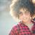 cute · vrouw · zonnebril · hemel · water - stockfoto © neonshot
