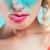 szórakoztató · aranyos · fiatal · nő · mutat · nyelv · készít - stock fotó © neonshot