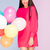 smiling african american girl with balloons stock photo © neonshot