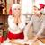 счастливая · семья · Рождества · время · кухне · пряничный · дома - Сток-фото © neonshot