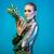 Blauw · ananas · witte · voedsel · vlinder · natuur - stockfoto © neonshot
