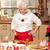 mutlu · aile · Noel · zaman · mutfak · zencefilli · çörek · ev - stok fotoğraf © neonshot
