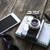 ретро · камеры · различный · личные · телефон - Сток-фото © nessokv