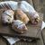 mini · frescos · croissants · bollo · vacaciones · romper - foto stock © nessokv