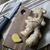 fresh ginger root on a cutting board stock photo © nessokv