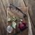 красную · розу · книга · любви · закрывается · красоту · зеленый - Сток-фото © nessokv