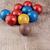 édes · csokoládé · golyók · darabok · márvány · absztrakt - stock fotó © nessokv