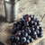 donkere · Blauw · druiven · rode · wijn · geïsoleerd · witte - stockfoto © nessokv