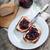 erik · reçel · ekmek · stüdyo · tahta · tatlı - stok fotoğraf © nessokv