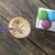 kahve · macaron · kurabiye · erkek · el - stok fotoğraf © nessokv