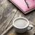 chocolade · cookies · beker · koffie · tabel - stockfoto © nessokv