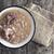 fasulye · beyaz · seramik · yemek - stok fotoğraf © nessokv