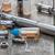 передовой · промышленности · стали · курение · сигарету - Сток-фото © nessokv