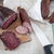 házi · készítésű · természetes · borjúhús · aszalt · hús · kolbász - stock fotó © nessokv