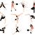 spor · siluetleri · spor · salonu · eğlence · dinlenmek · enerji - stok fotoğraf © Nevenaoff