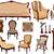 woonkamer · interieur · communie · ingesteld · vector · illustraties - stockfoto © nevenaoff