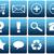 Blauw · vraagteken · knop · witte · ring · web · design - stockfoto © newt96