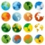 world globe vector illustration stock photo © nezezon