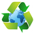 wereld · wereldbol · recycleren · borden · vector · contact - stockfoto © nezezon