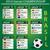 Brazilië · voetbal · kampioenschap · 2014 · groep · vlaggen - stockfoto © nezezon