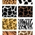 illustration of animal skin textures background patterns stock photo © nezezon