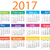 calendar for 2017 stock photo © nezezon