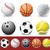 deporte · blanco · golf · naranja · béisbol - foto stock © nezezon