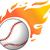 野球 · 炎 · ベクトル · 草 · スポーツ · チーム - ストックフォト © nezezon