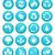 вектора · окружающий · иконки · дизайна · Элементы · природы - Сток-фото © nezezon