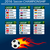 Belçika · bayrak · futbol · topu · vektör · dünya · futbol - stok fotoğraf © nezezon