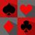 jogos · de · azar · pôquer · vidro · fundo · teia - foto stock © nezezon