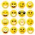 moderne · Geel · lachend · gelukkig · glimlach · gezicht - stockfoto © nezezon