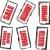elismert · gumi · bélyegek · gyűjtemény · grunge · iroda - stock fotó © nicemonkey
