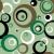 concéntrico · círculos · patrón · marrón · verde · sin · costura - foto stock © nicemonkey