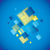 3D · arco · iris · elementos · colores · tejido · textura - foto stock © nicemonkey