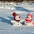 casal · mão · céu · homem · gelo - foto stock © Nickolya