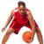 черную · женщину · играет · баскетбол · красивой · черный · афроамериканец - Сток-фото © nickp37