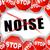 não · ruído · abstrato · ilustração · fundo · assinar - foto stock © nickylarson974