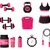 fitness icons on white background stock photo © nickylarson974