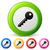 conjunto · teclas · porta · trancar · isolado · branco - foto stock © nickylarson974
