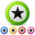 vector star icons stock photo © nickylarson974