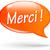 dank · u · tekstballon · hand · sticker · vector · bestand - stockfoto © nickylarson974