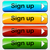 vector sign up buttons stock photo © nickylarson974