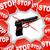 fegyver · tilos · felirat · ikon · fehér · átlátszó - stock fotó © nickylarson974