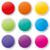 ステッカー · アイコン · オレンジ · 星 · ボタン - ストックフォト © nickylarson974
