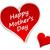szczęśliwy · matka · dzień · serca · tag · wektora - zdjęcia stock © nickylarson974