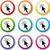 マウス · にログイン · 紫色 · ベクトル · アイコン · ボタン - ストックフォト © nickylarson974