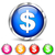 dollar chrome icons stock photo © nickylarson974