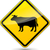 vector cow sign stock photo © nickylarson974