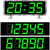 időzítő · digitális · 30 · illusztráció · fém · szám - stock fotó © nickylarson974
